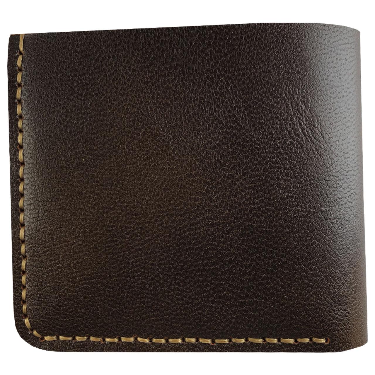 کیف پول چرم طبیعی ای دی گالری مدل P1-DBR