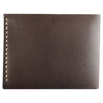 کیف پول چرم طبیعی ای دی گالری مدل G4-DBR