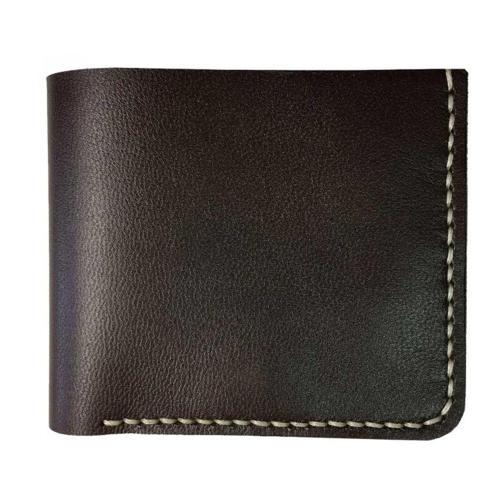 کیف پول چرم طبیعی ای دی گالری مدل B2-DBR
