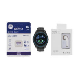 ساعت هوشمند اسمارت 2030 مدل S-009 به همراه هندزفری اچ بی کیو مدل i7 و کارت حافظه 16 گیگابایتی