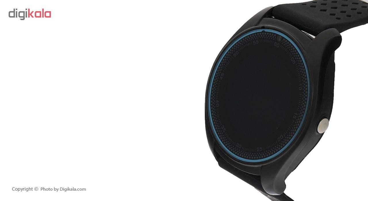 ساعت هوشمند اسمارت 2030 مدل S-009 به همراه هندزفری اچ بی کیو مدل i7 و کارت حافظه 16 گیگابایتی main 1 4