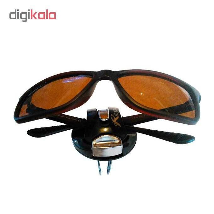 نگهدارنده عینک خودرو مدل kh-300 main 1 5