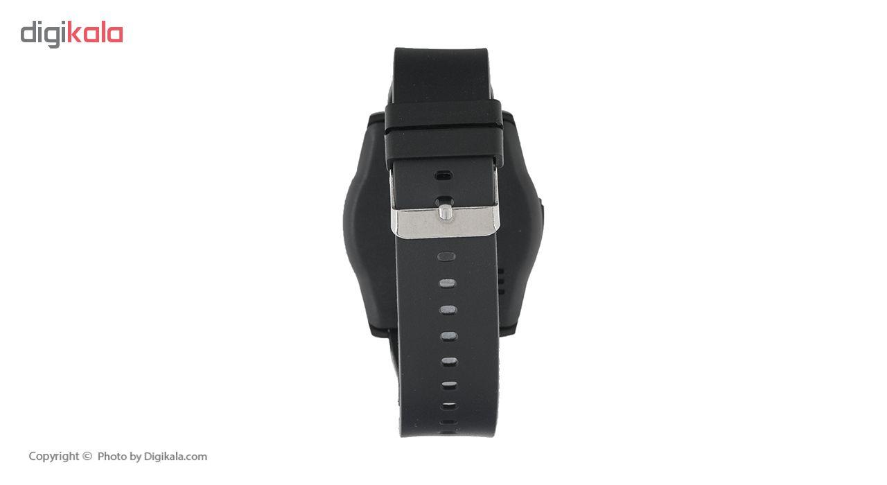 ساعت هوشمند جی تب مدل W300  به همراه هندزفری اچ بی کیو مدل i7