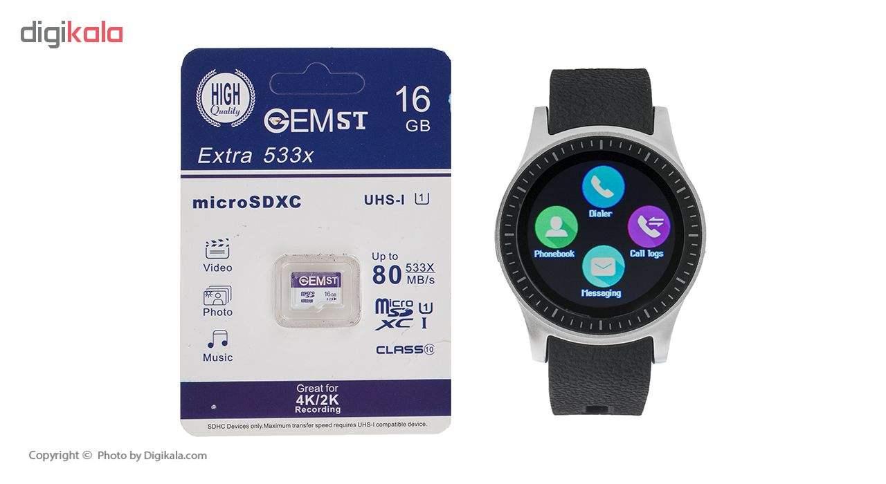 ساعت هوشمند جی تب مدل S1 به همراه کارت حافظه 16 گیگابایتی main 1 1