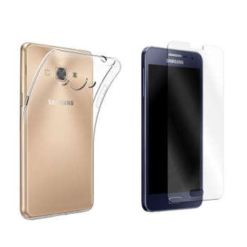 کاور مدل Cl-001 مناسب برای گوشی موبایل سامسونگ Galaxy A7 2015 به همراه محافظ صفحه نمایش hard and thick