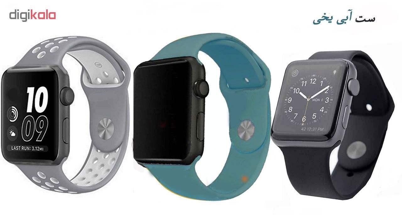 ساعت هوشمند مدل  iWO-s  همراه دو بند اضافه نایک و محافظ صفحه نمایش و بگ شیدتگ thumb 25