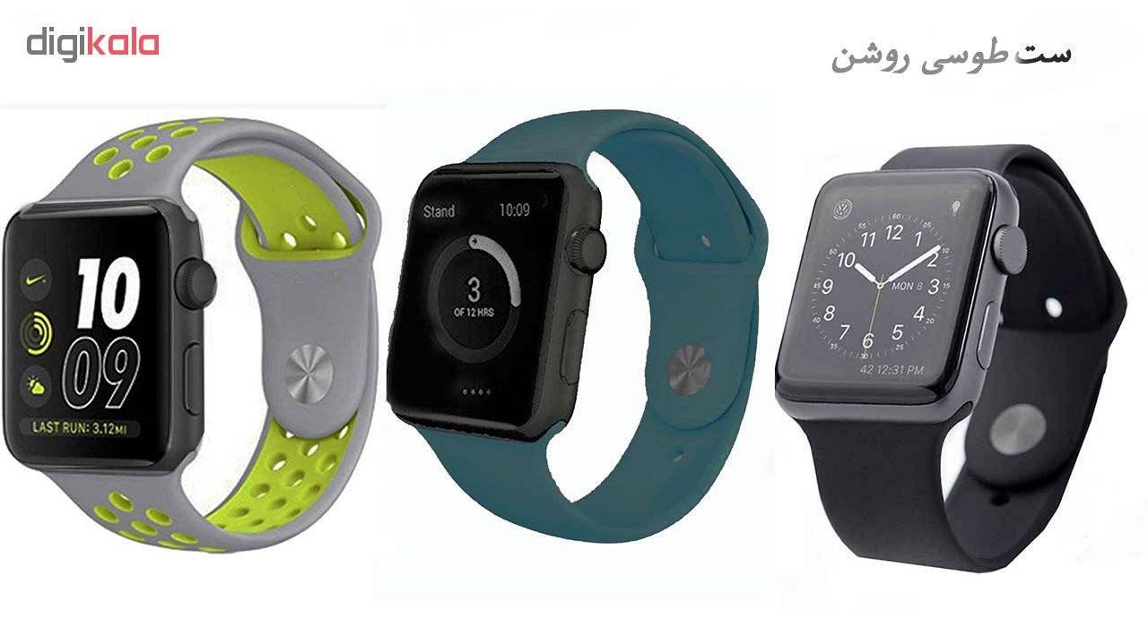ساعت هوشمند مدل  iWO-s  همراه دو عدد بند اضافه main 1 1