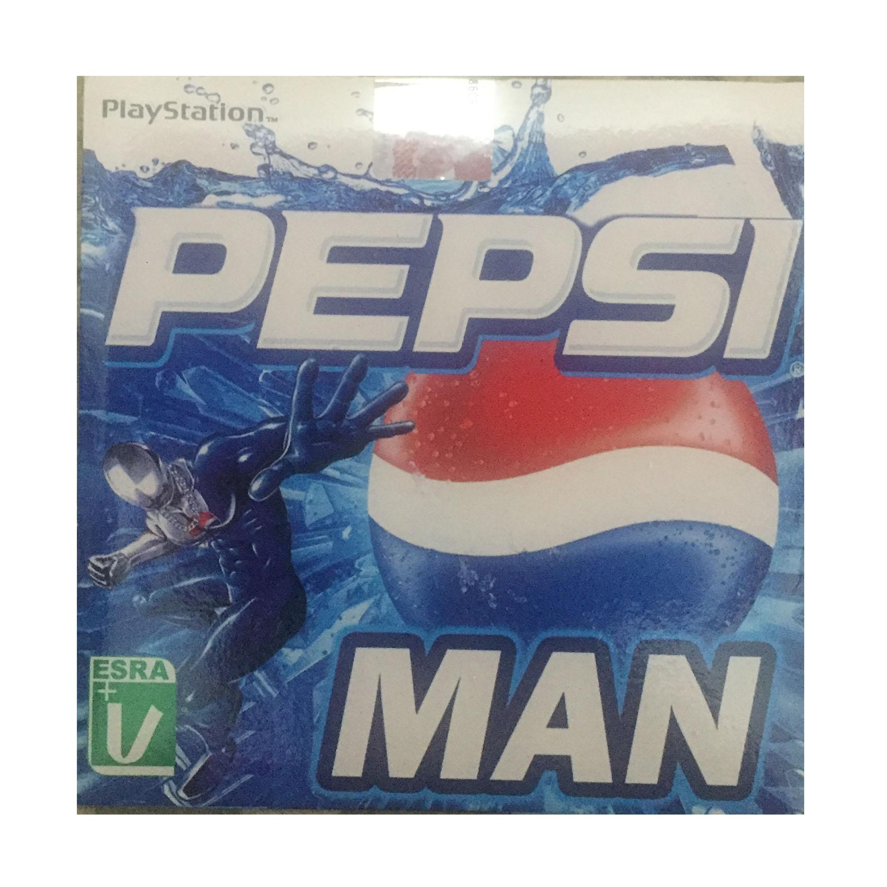 بازی PEPSI MAN مخصوص PLAYStation1 (به همراه هدیه ۱ عدد سی دی آلبوم موسیقی مکث)