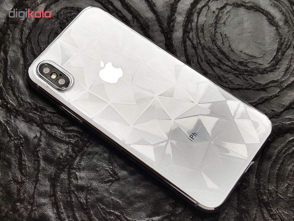 کاور طرح برجسته مدل Diamond IP-400 مناسب برای گوشی موبایل اپل Iphone X / Xs main 1 4