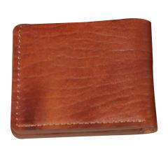 کیف پول جیبی دست دوز چرم طبیعی مردانه  راسا
