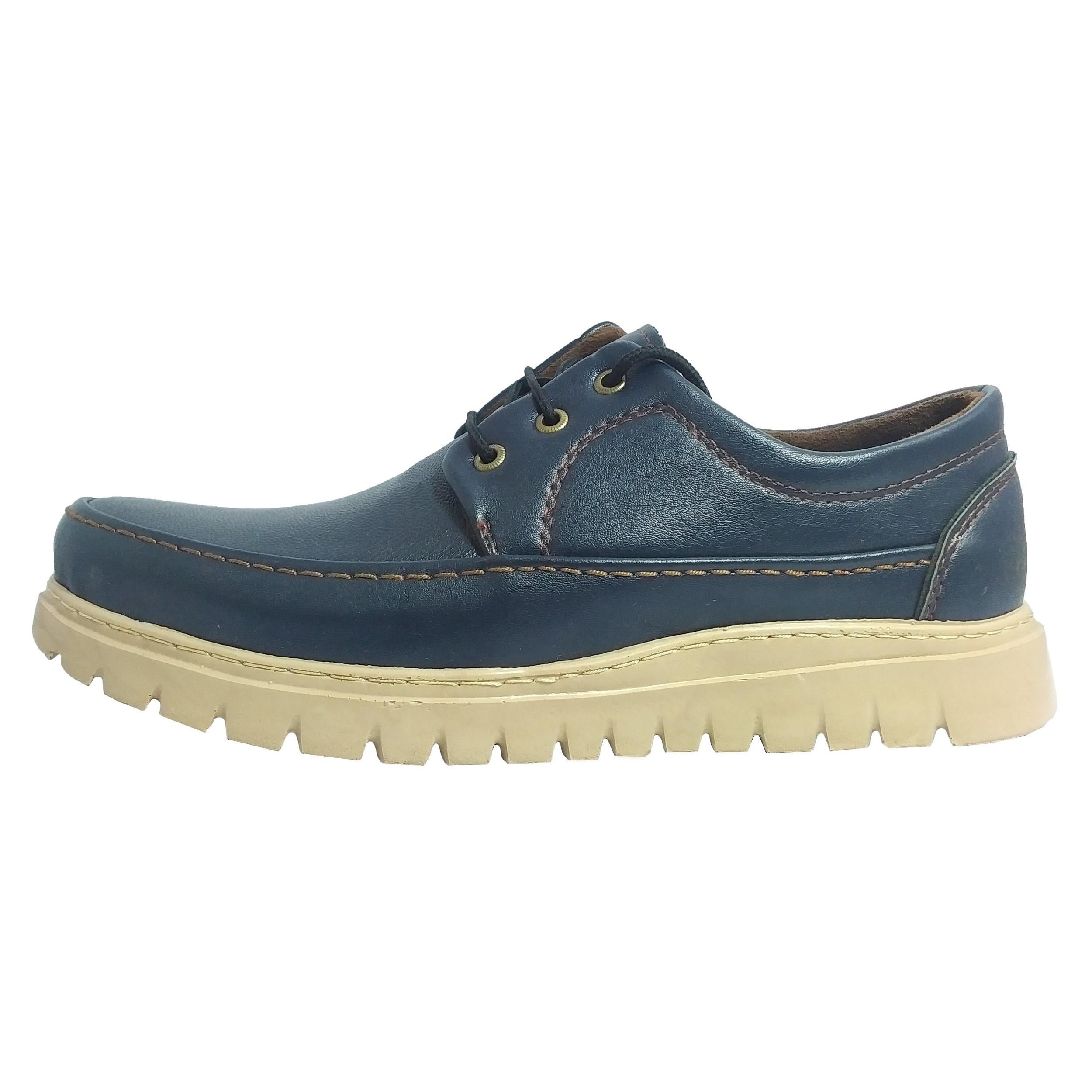 کفش مردانه مدل اریکا کد AHA13-2 رنگ سرمه ای