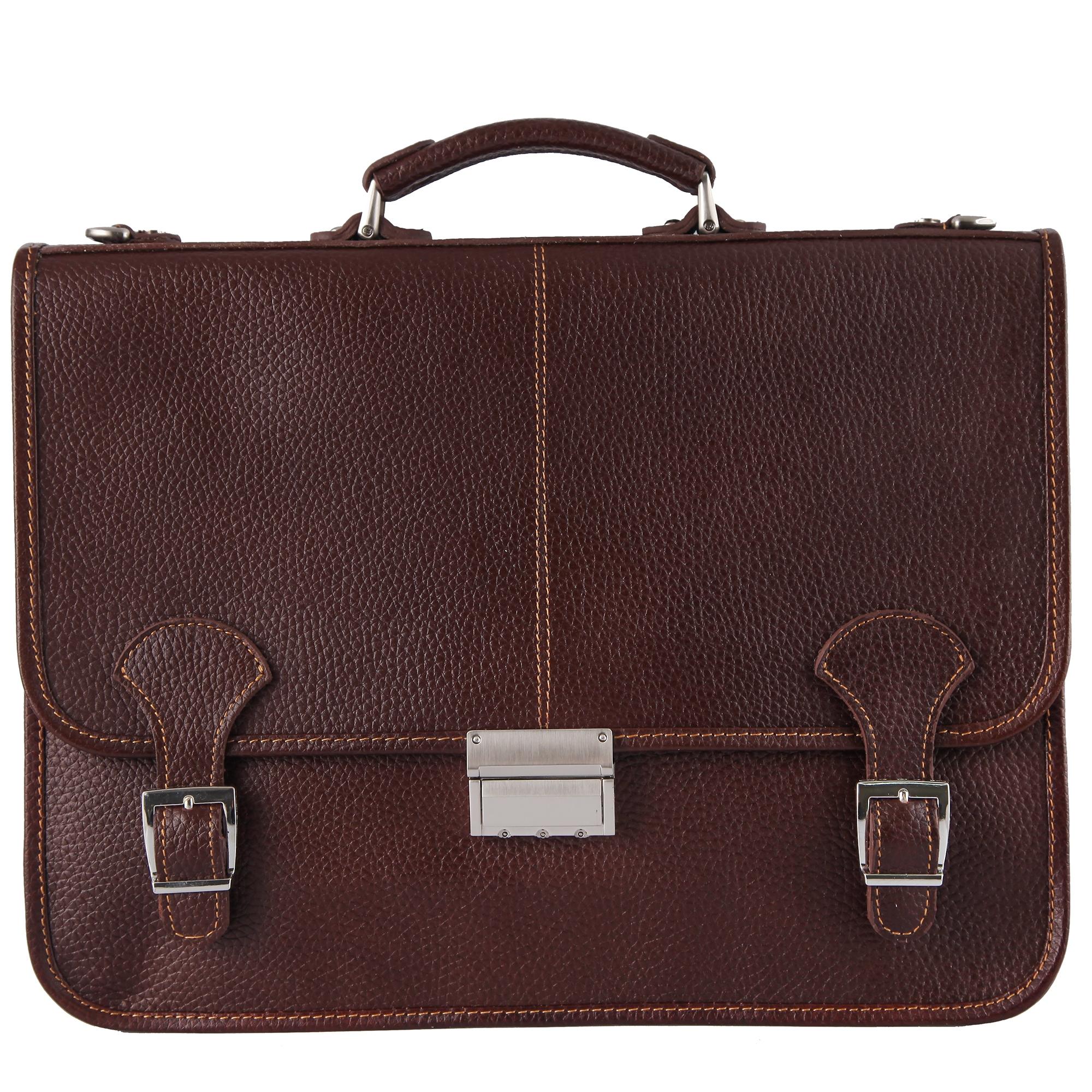 کیف چرم اداری مردانه گالری مثالین کد 24046