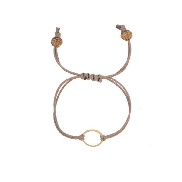 دستبند طلا 18عیار الن مدل EL169