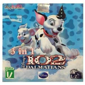 بازی 102 سگ خالدار مخصوص ps1