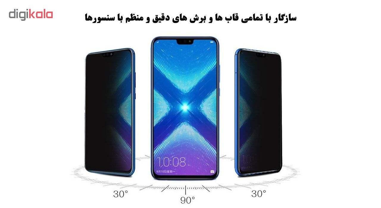 محافظ صفحه نمایش 5D لایونکس مدل USS مناسب برای گوشی موبایل هوآوی Y9 2019 بسته دو عددی main 1 4