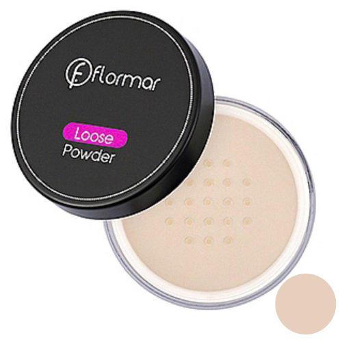 پودر تثبیت کننده آرایش فلورمار مدل Pink-classic شماره 1