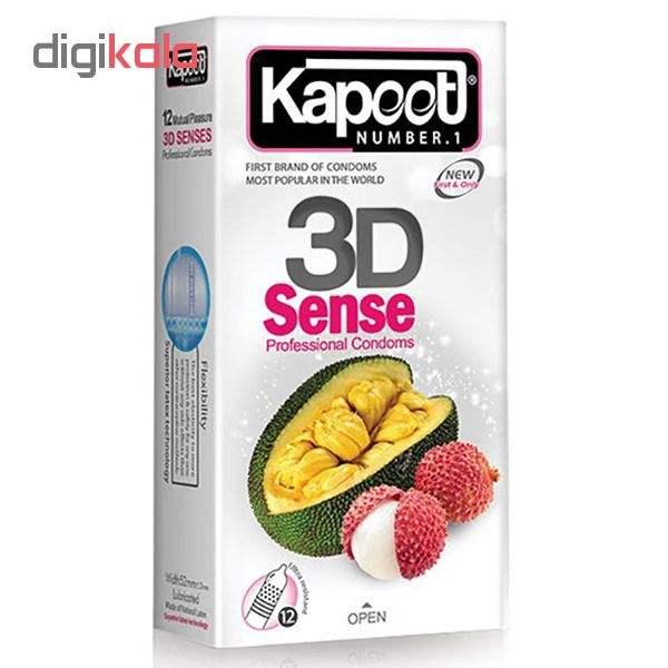 کاندوم ناچ کاپوت مدل 3D SENSE مجموعه 12 عددی به همراه کاندوم ناچ کدکس مدل بلیسر بسته 12 عددی main 1 1