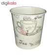 لیوان یکبار مصرف کاغذی الین پلاست مدل KGH2-40 بسته 40 عددی thumb 4