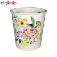 لیوان یکبار مصرف کاغذی الین پلاست مدل KGH2-40 بسته 40 عددی thumb 5