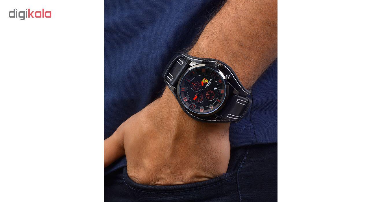 کد تخفیف                                      ساعت مچی عقربه ای مردانه کد 3Por-K-Red                     غیر اصل