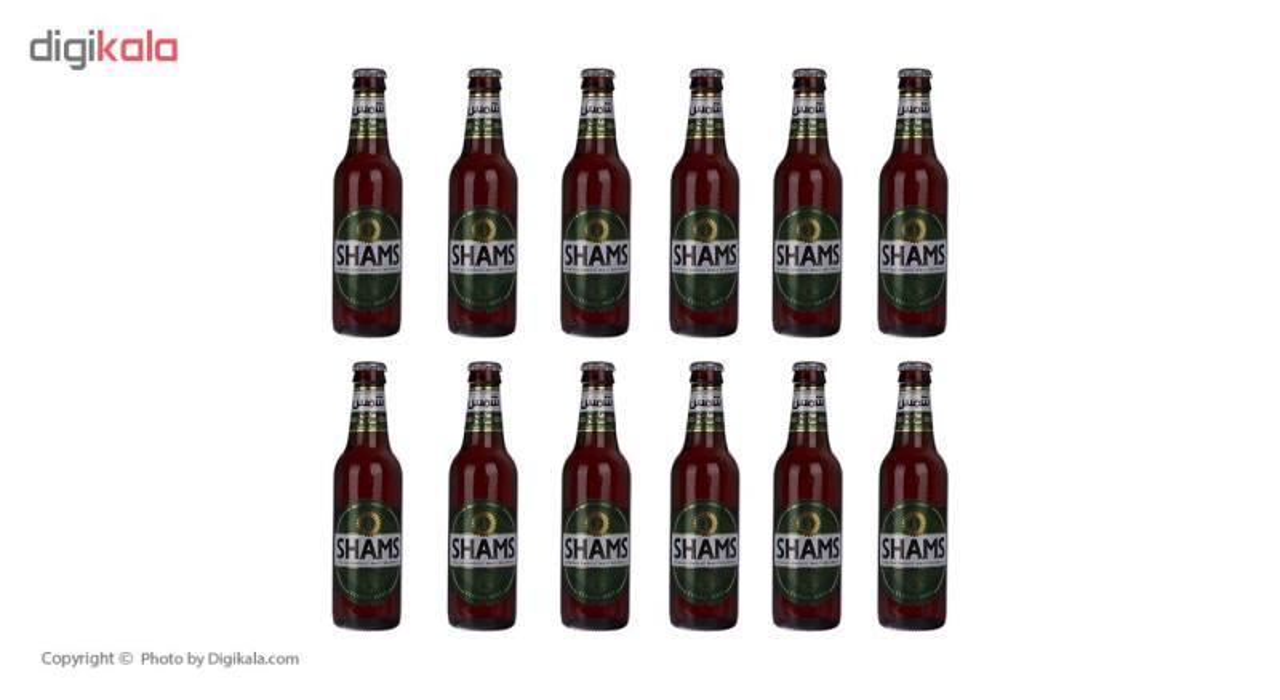 نوشیدنی مالت بدون الکل کلاسیک شمس مقدار 320 میلی لیتر بسته 12 عددی main 1 2
