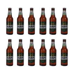 نوشیدنی مالت بدون الکل استوایی شمس مقدار 320 میلی لیتر بسته 12 عددی