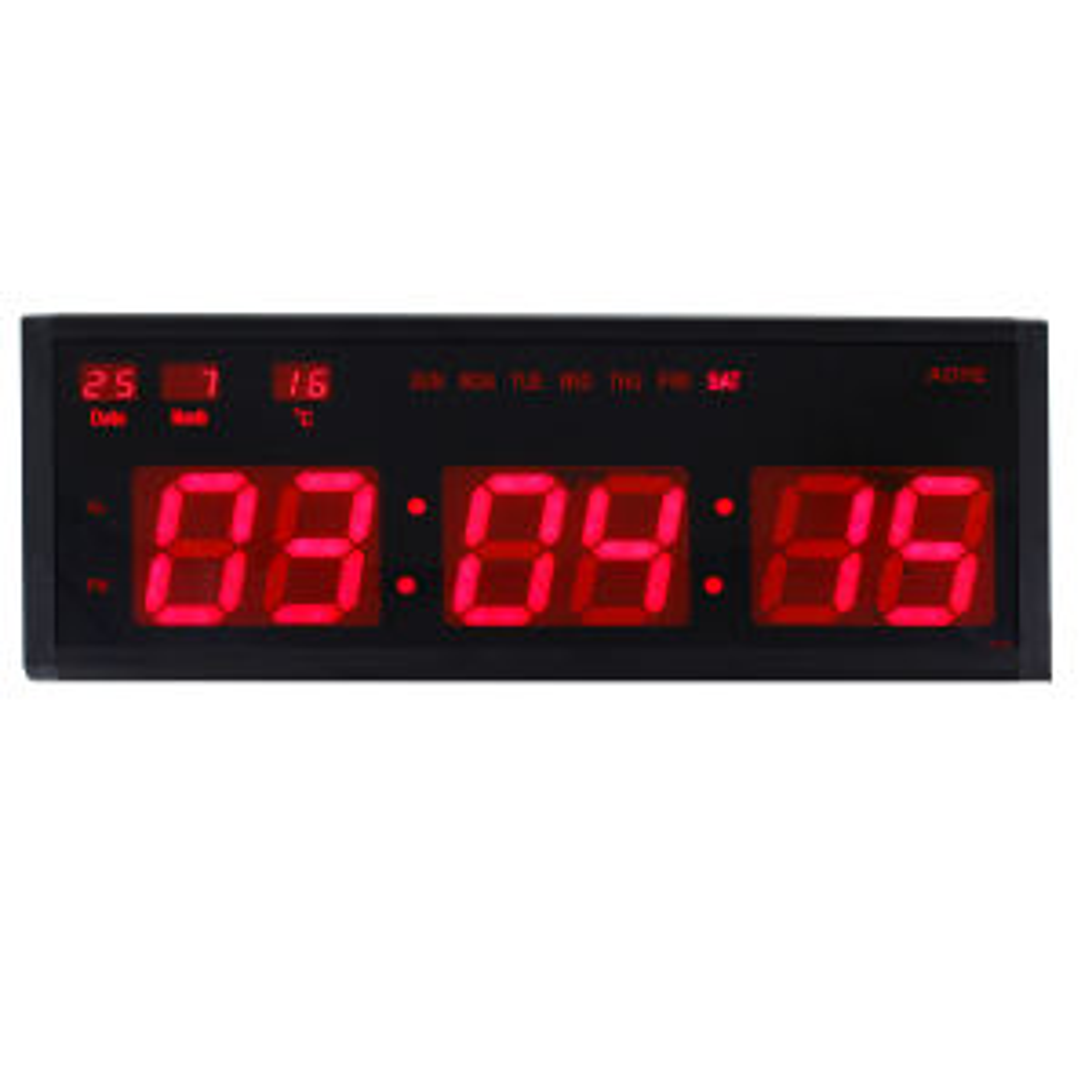 خرید ساعت دیواری دیجیتال مدل 4819  سایز 19 در 48 سانتیمتر