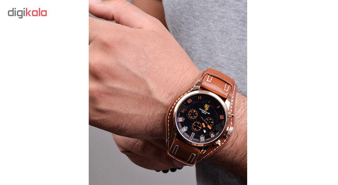 کد تخفیف                                      ساعت مچی عقربه ای مردانه کد 3Por-Orange                     غیر اصل