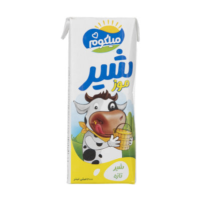 شیر موز میهن مدل میلکوم حجم 200 میلی لیتر