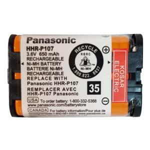 باتری تلفن بی سیم مدل HHR-P107