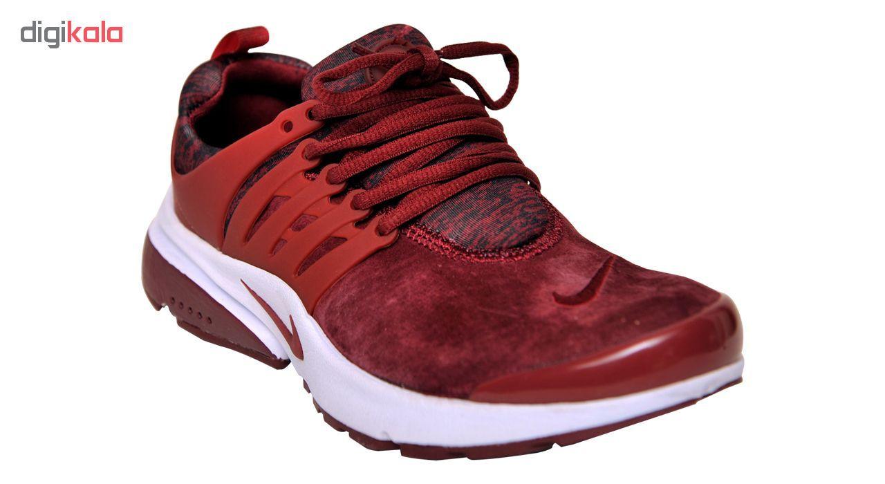 کفش مخصوص پیاده روی زنانه نایکی مدل AIR PRESTO BR BURGUNDY