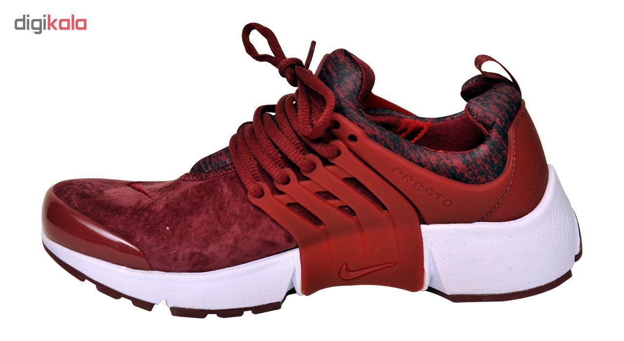 کفش مخصوص پیاده روی مردانه مدل AIR PRESTO BR BURGUNDY