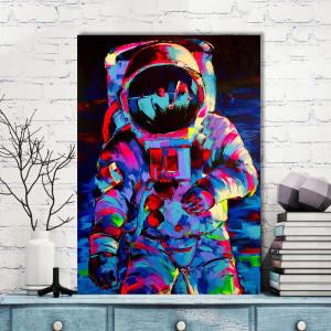 تابلو شاسی گالری استاربوی طرح فضانورد مدل هنری 225