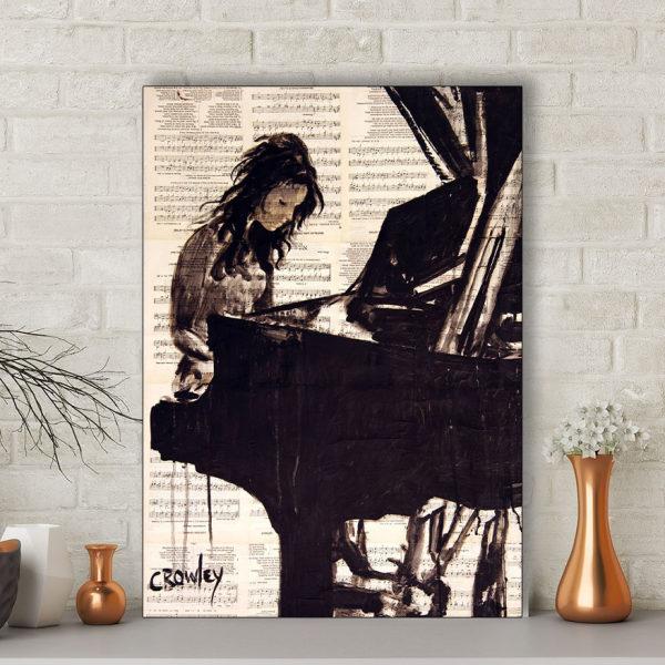 تابلو شاسی گالری استاربوی طرح پیانو مدل هنری 235