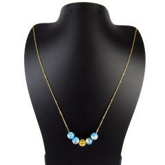 گردنبند طلا 18 عیار زنانه مانچو مدل Sfg627 |