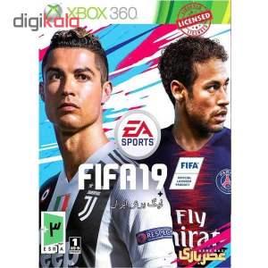 بازی fifa19 مخصوص XBOX 360