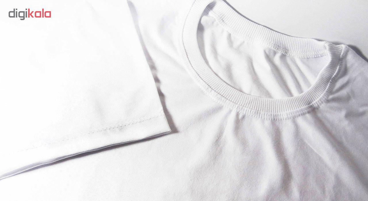 تیشرت آستین کوتاه مردانه طرح فست فود کد 23120