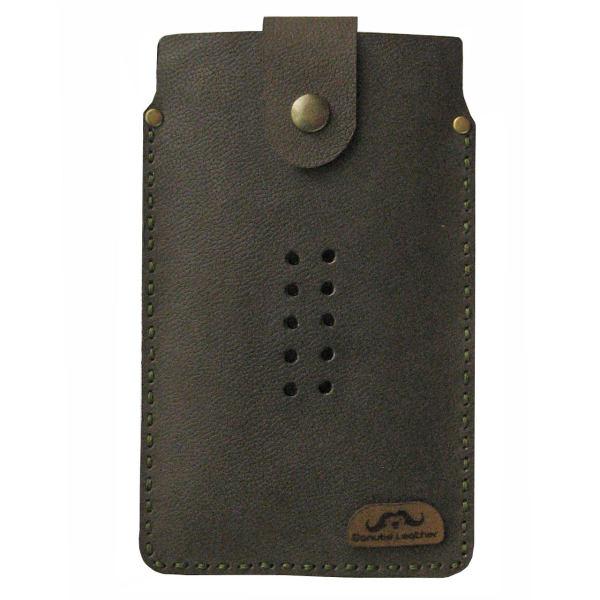 کیف گوشی چرم گاوی دانوب مدل PH 6.5-43 مناسب برای سایر گوشیهای  موبایل تا 5.5 اینچ