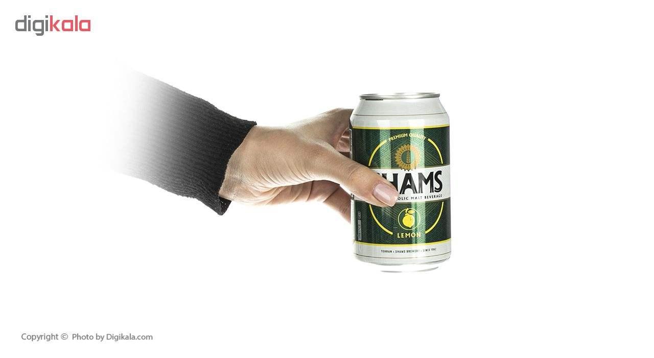 نوشیدنی مالت بدون الکل لیمو شمس مقدار 330 میلی لیتر main 1 4