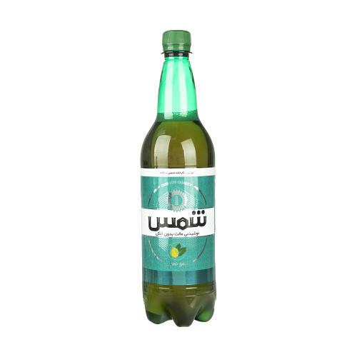 نوشیدنی مالت بدون الکل لیمو نعناع شمس حجم 1 لیتر