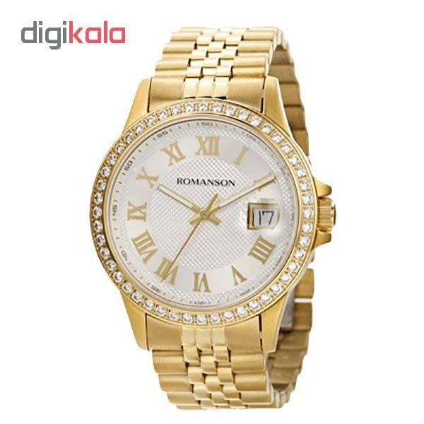 ساعت مچی عقربه ای مردانه رومانسون مدل TM0361QM1GAS1G