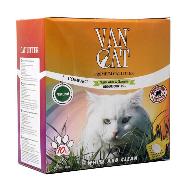خاک گربه ون کت مدل Super White & Clumping وزن 10کیلوگرم