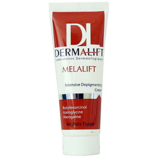 کرم روشن کننده قوی درمالیفت مدل Melalift Cream حجم 40 میلی لیتر