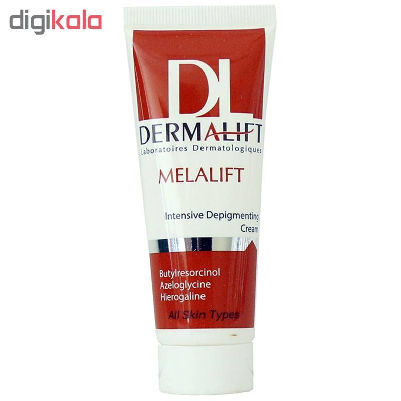 کرم روشن کننده قوی درمالیفت مدل Melalift Cream حجم 40 میلی لیتر -  - 2