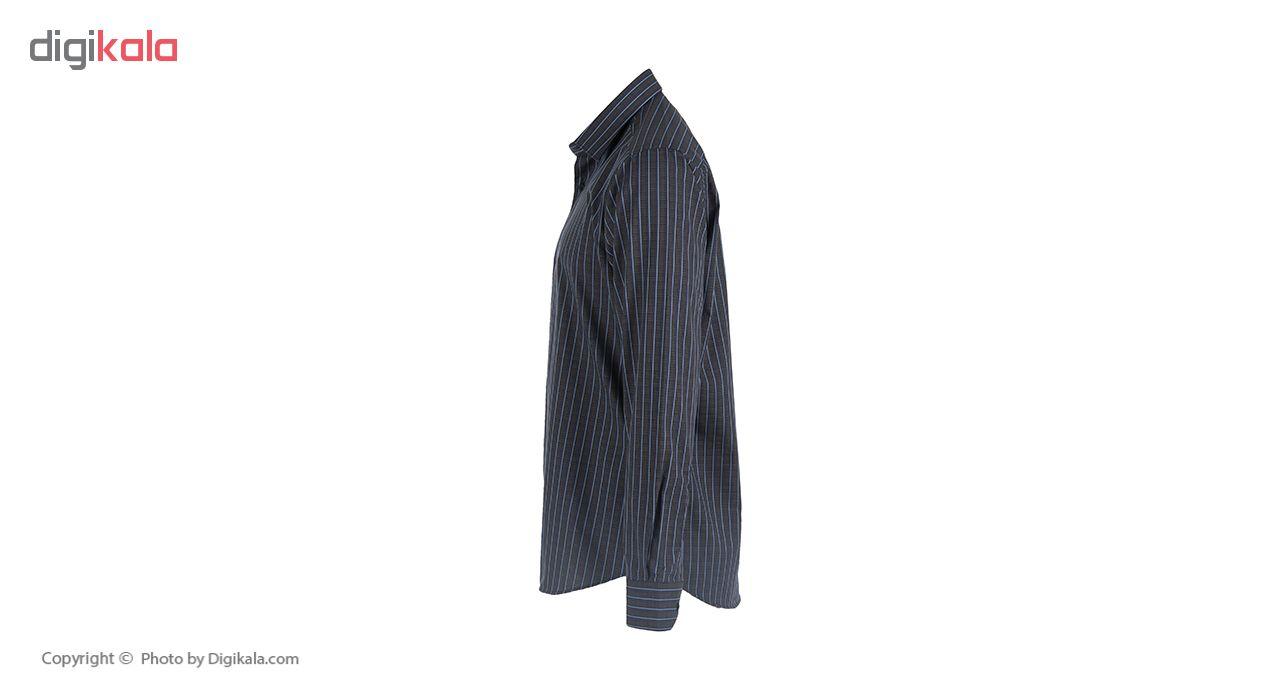 پیراهن مردانه پلاتین طرح چهارخانه کد 1020