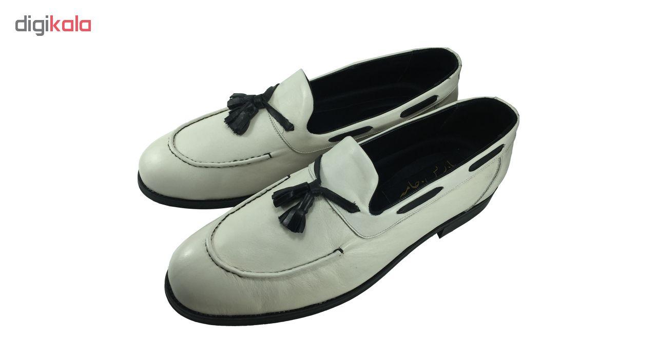 کفش مردانه مدل  B480 رنگ سفید