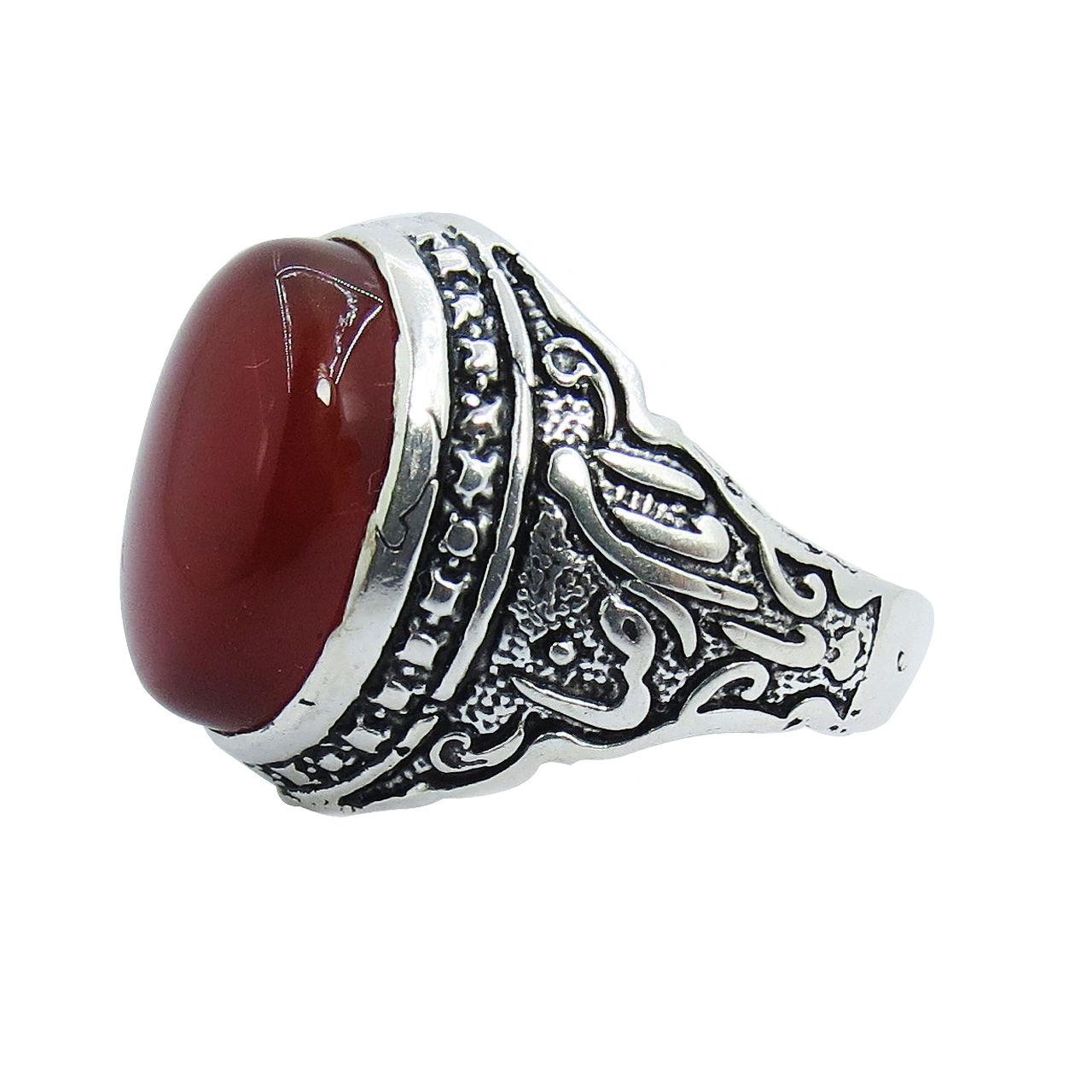 انگشتر نقره مردانه کد A۱۴۹۳