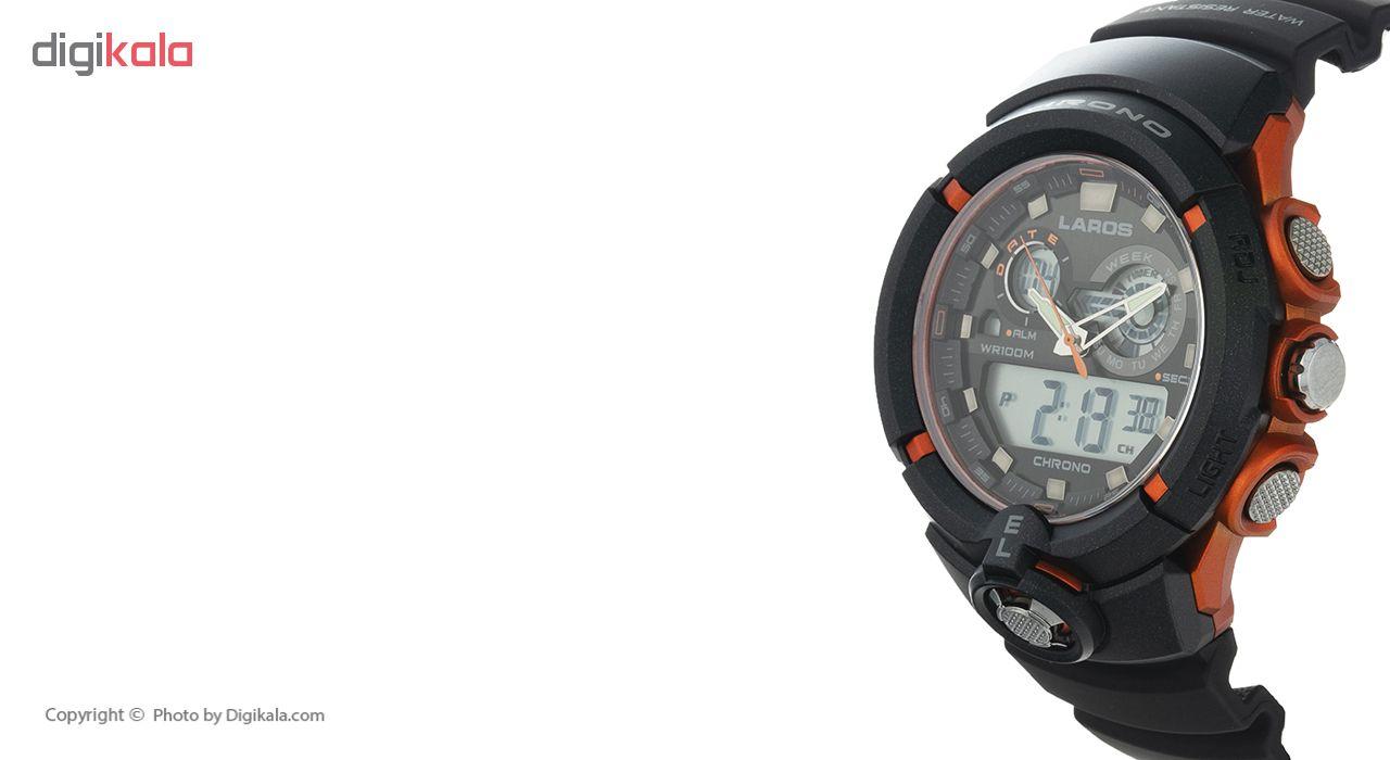 ساعت مچی دیجیتال مردانه لاروس مدل AD1188-0418