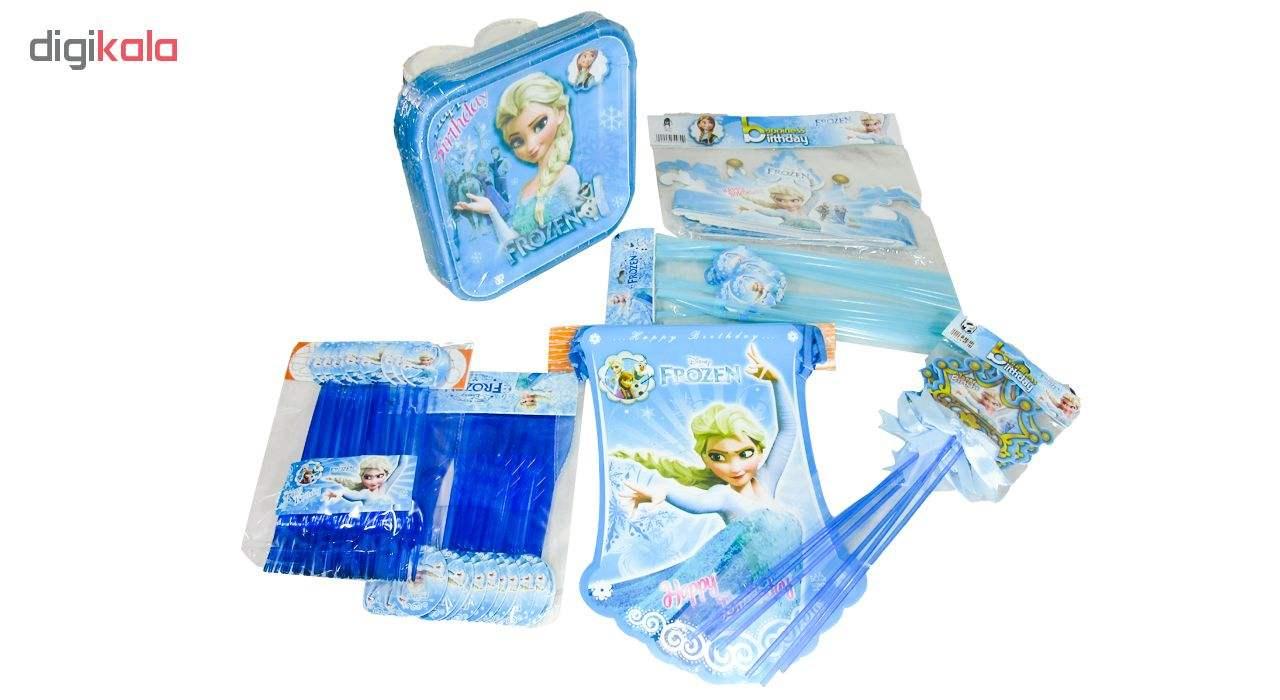 مجموعه 90 عددی تم تولد مدل Frozen thumb 2
