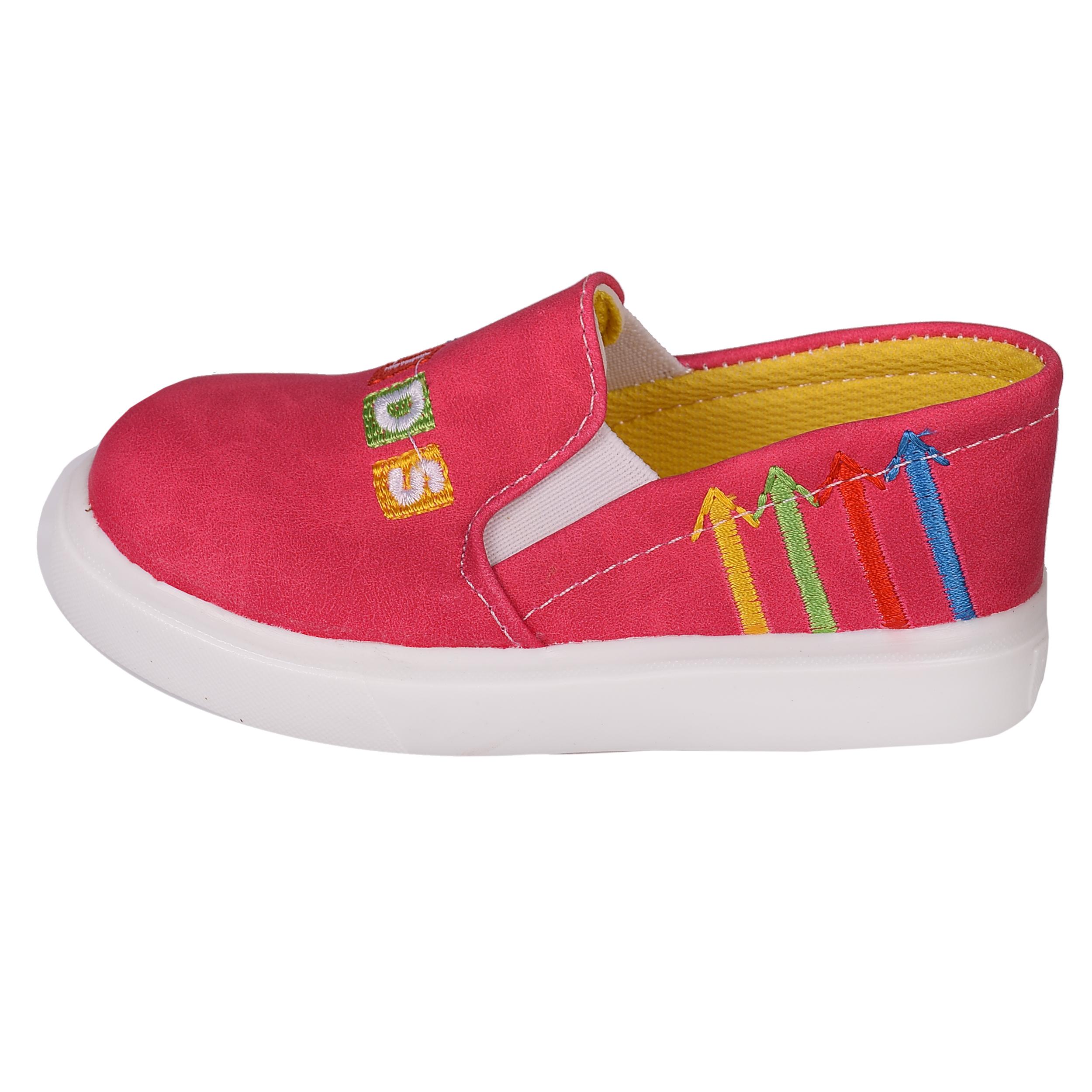 کفش دخترانه مدل کیدز کد 3595 رنگ سرخابی
